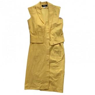 Jeremy Scott Yellow Cotton Jacket for Women