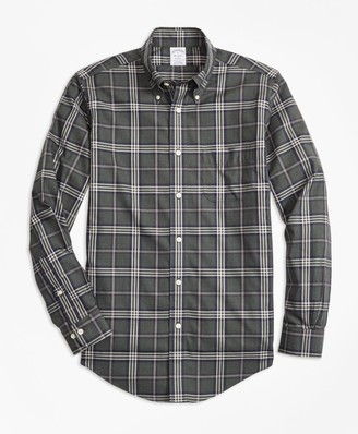 Brooks Brothers Non-Iron Regent Fit Signature Tartan Sport Shirt
