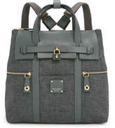 Henri Bendel Jetsetter Convertible Canvas Backpack