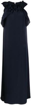 P.A.R.O.S.H. Frilled Long Dress