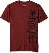 Zoo York Men's Short Sleeve Lucas Script T-Shirt