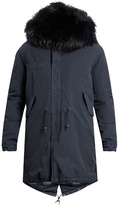 Mr & Mrs Italy Fur-trimmed Canvas Parka