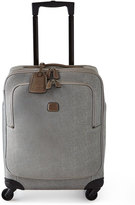 """Bric's Life Frosted Silver 21"""" Carry-On Spinner"""