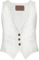 ROCKINS Slim-fit denim waistcoat
