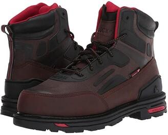 Rocky RXT 6 Comp Toe Non Metallic Boot (Dark Brown) Men's Shoes