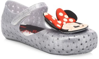 Mini Melissa Baby's, Little Girl's & Girl's Furadinha Minnie Mouse Shoes
