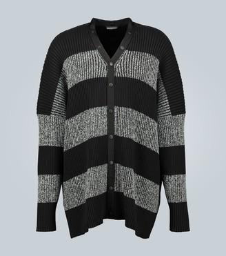 Balenciaga Knitted button-down cardigan