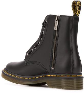 Dr. Martens Zip Detail Boots