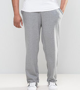 Asos Plus Jogger With Raw Edge