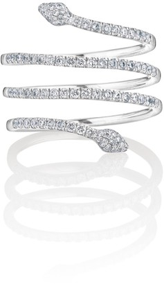 Linea Vara Of London Serpentina Ring In White Gold