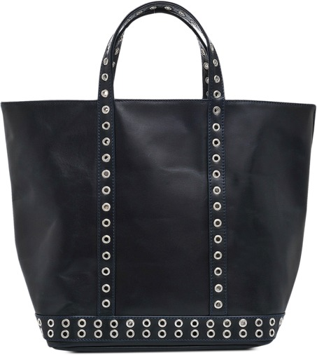 Vanessa Bruno Medium leather tote eyelets