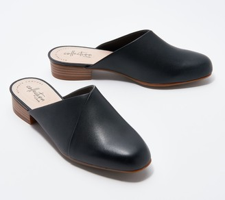 Clarks Collection Leather Mules - Juliet Willow