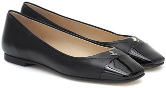 Jimmy Choo Gisela leather ballet flats