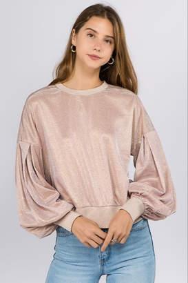 On Twelfth Metallic Sweatshirt