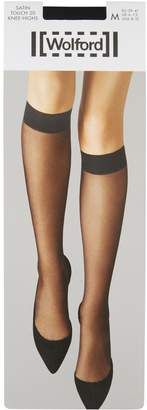 Wolford Satin Touch 20 Knee-High Stockings