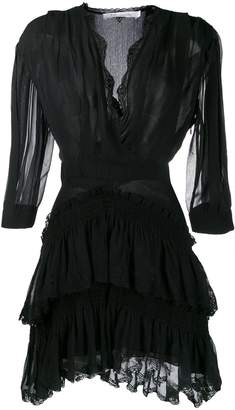 IRO ruched layered dress
