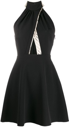 Victoria Victoria Beckham Halterneck Mini Dress