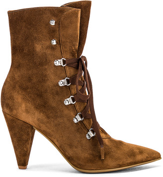 Gianvito Rossi Lace Up Ankle Booties in Texas | FWRD