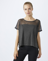 Accessorize Cropped Mesh T Shirt
