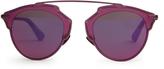 Christian Dior So Real aviator sunglasses