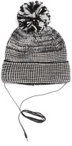 Rebecca Minkoff Women's Mouline Pom Beanie With Headphones - Black