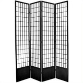 Oriental Furniture Extra Tall Large Wide Size, 7-Feet Window Pane Shoji Folding Screen Room Divider