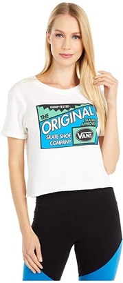 Vans Ramp Tested Roll Out Tee (Marshmallow) Women's Clothing