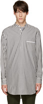 3.1 Phillip Lim Grey & White Pyjama Shirt