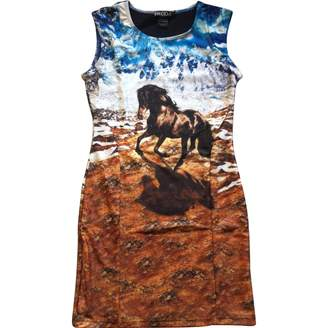We Are Handsome Brown Dress for Women