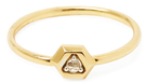 Maiyet 18K Yellow Gold & 0.03 Total Ct. Diamond Constellation Ring