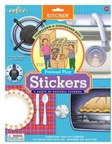 Eeboo Infant Cardboard Box Kitchen Sticker Set