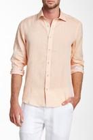 Report Collection Long Sleeve Linen Modern Fit Sport Shirt