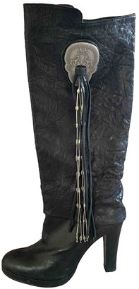 Thomas Wylde Black Leather Boots