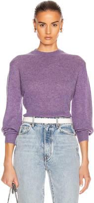 KHAITE Viola Sweater in Amethyst   FWRD