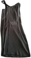 Christian Dior Black Leather Dress