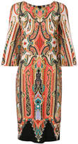 Etro patterned pencil dress