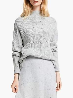 John Lewis & Partners Transfer Rib Sweater