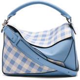 Loewe Gingham Puzzle Bag