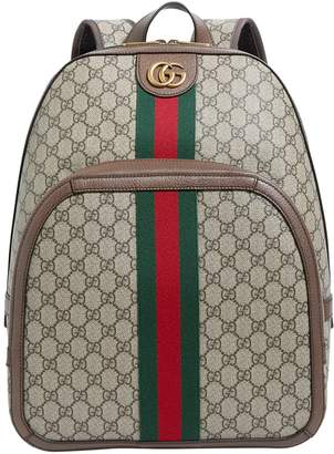 Gucci Ophelia GG Supreme Backpack
