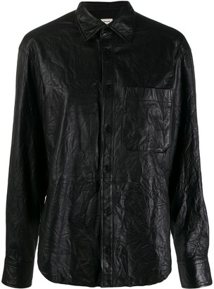 Zadig & Voltaire Leather Shirt