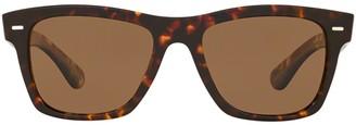Oliver Peoples Oliver Sun Square Frame Sunglasses