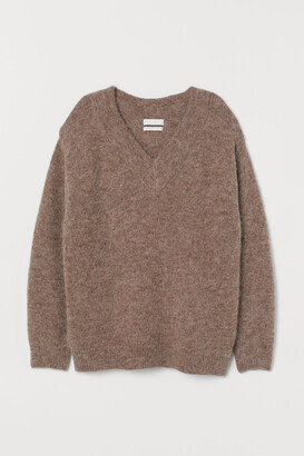 H&M Knitted wool-blend jumper