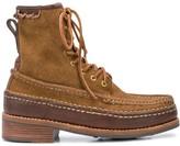 Visvim Grizzly Hi Folk boots