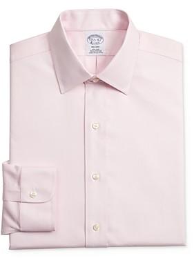 Brooks Brothers Dobby Dot Classic Fit Dress Shirt