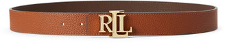 Ralph Lauren Reversible Logo Leather Belt