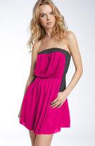 Two Tone Strapless Dress