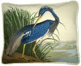 Petit Point Hkh International Indiana Heron Pillow, Looking Back