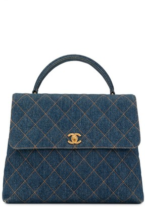 Chanel Pre Owned 1997 quilted CC tote