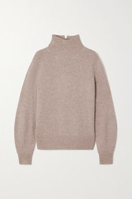 Vince Cashmere Turtleneck Sweater - Gray