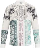 Etro Point-collar paisley-print cotton shirt
